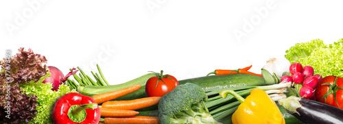 Spoed canvasdoek 2cm dik Verse groenten Vegetables