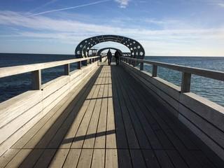 Seebrücke in Kellenhusen an der Ostsee