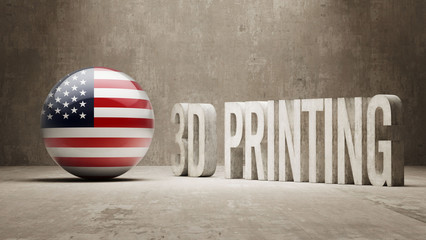 United States.  3d Printing Concept