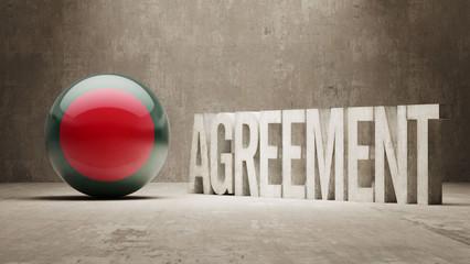 Bangladesh. Agreement  Concept