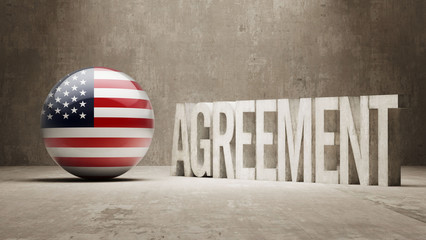 United States. Agreement  Concept