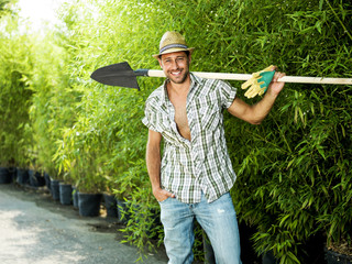 farmer ready for work