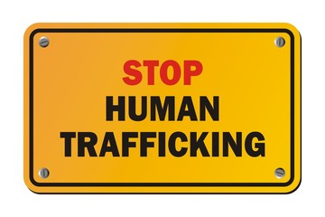 stop human trafficking - warning signs