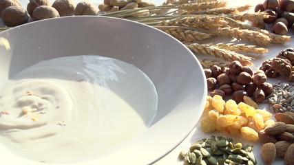 Muesli and Ingredients