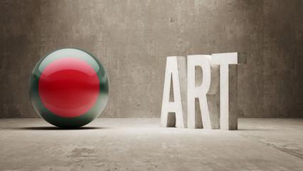 Bangladesh. Art  Concept