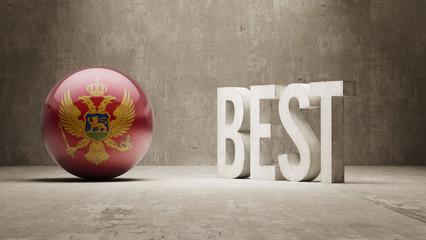 Montenegro. Best  Concept