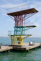 Diving Board into the water in Kerch