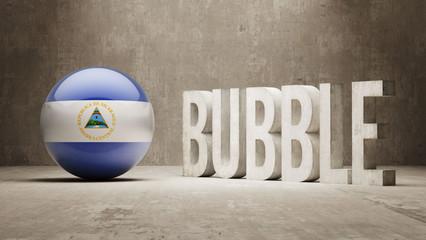 Nicaragua. Bubble  Concept.