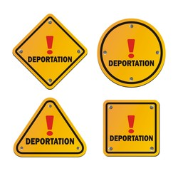 deportation - warning signs