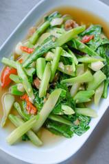 Stir fried kaled