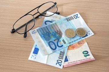 billet de banque Zone Euro