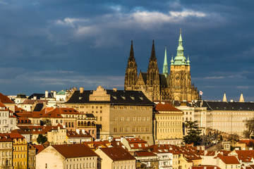 St.Vitus Cathedral and Prague Castle-Czech Rep.