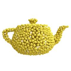 Teapot of lemons