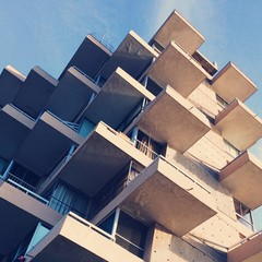 modern building in  Viña deñ mar, Chile