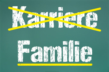 Karriere,Familie