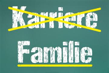 Karriere,Familie