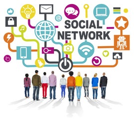 People Togetherness Communication Social Network Concept