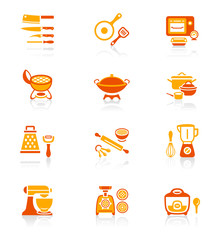 Cooking utensil icons || JUICY series