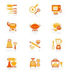 Cooking utensil icons || JUICY series