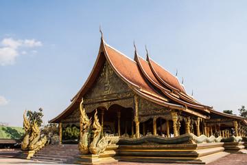 Wat Sirindhornwararam in Ubon Ratchathani, Thailand