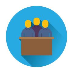 jury trial icon