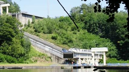 Saint-Louis-Arzviller, Schiffshebewerk, Rhein-Marne-Kanal