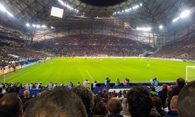 Fototapeta w trakcie meczu piłkarskiego