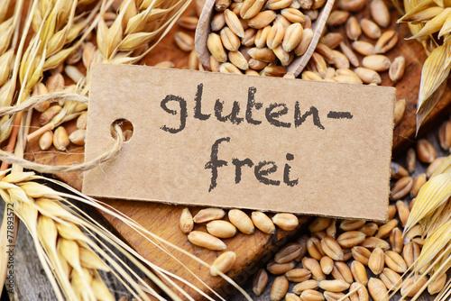 Leinwandbild Motiv glutenfrei