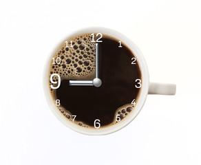 Kaffeezeit Neun Uhr