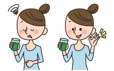 女性 青汁