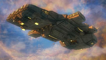 Alien UFO ship