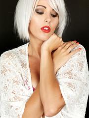 Beautiful Aloof Young Woman