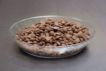 Vassoio con Cioccolato fondente