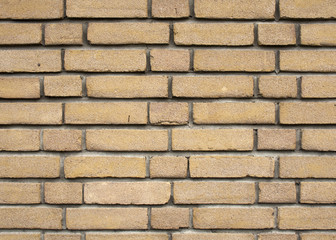 Yellow brick wall backgrounds