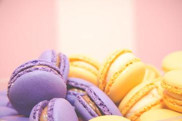 Macarons on show