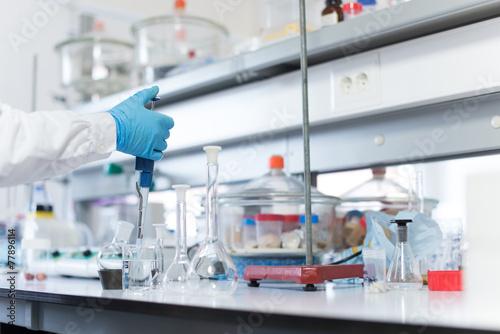 Scientist in lab - 77896114