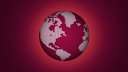 Earth dots violet