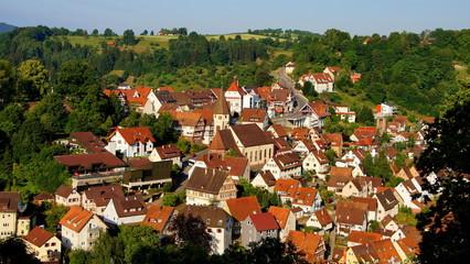 Wildberg Ortskern mit Kirche