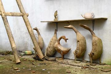 Old balinese handicrafts