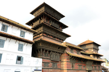 Basantpur tower at Hanuman dhoka durbar
