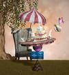 Wonderland series - Mad hatter banquet - 77897390