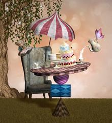 Wonderland series - Mad hatter banquet
