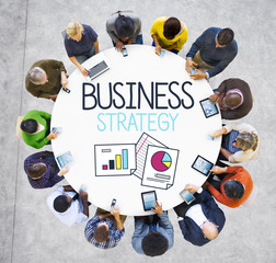 Business Strategy Innovation Planning Concept
