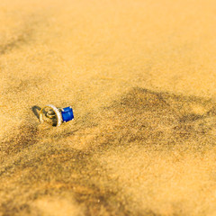 bijoux sur la plage