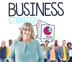 Business Strategy Planning Meeting Seminar Concept