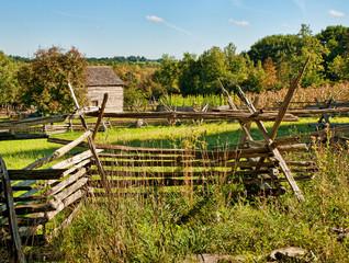 old farm fences