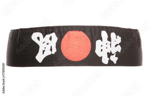 Poster Japanese ninja headband