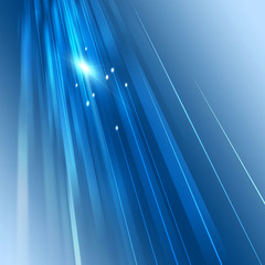 Abstract Motion Business Blue Background