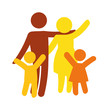 family silhouette - 77902502
