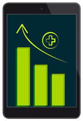 Tablet next generation vector illustration